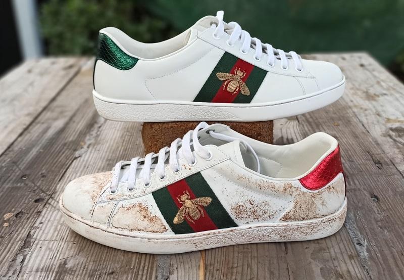 άσπρα αθλητικά παπούτσια
