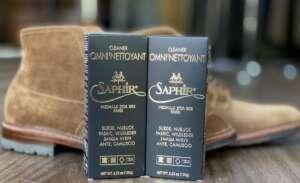 Saphir - πως καθαρίζω τα καστόρινα παπούτσια