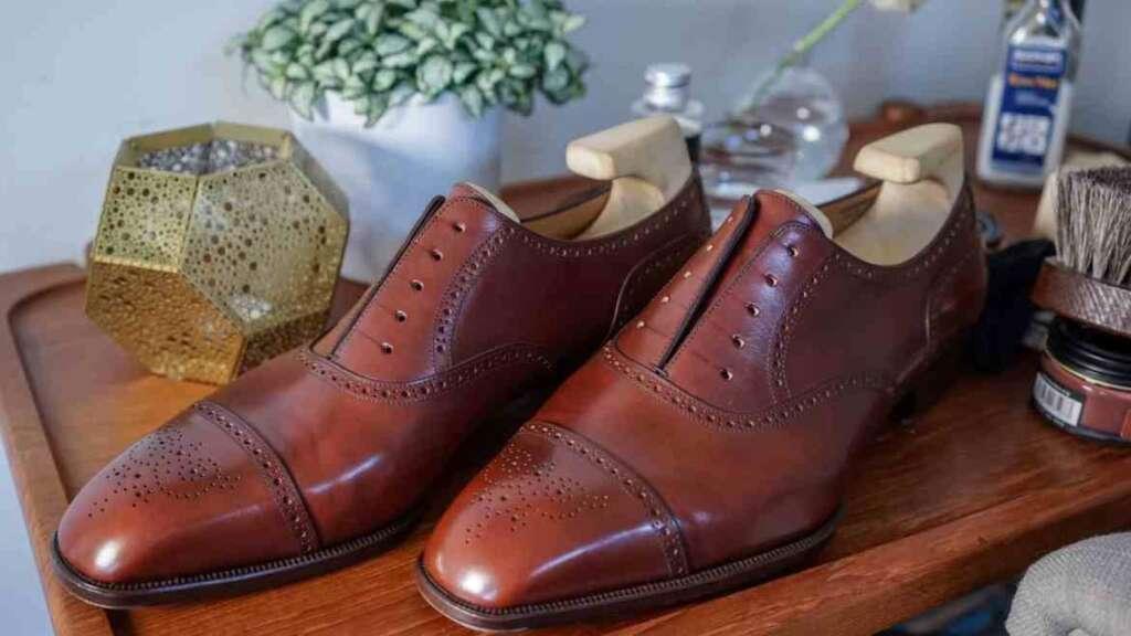 αλλαγή χρώματος παπουτσιών