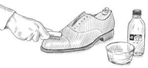 καστόρινα παπούτσια περιποίηση βούρτσισμα