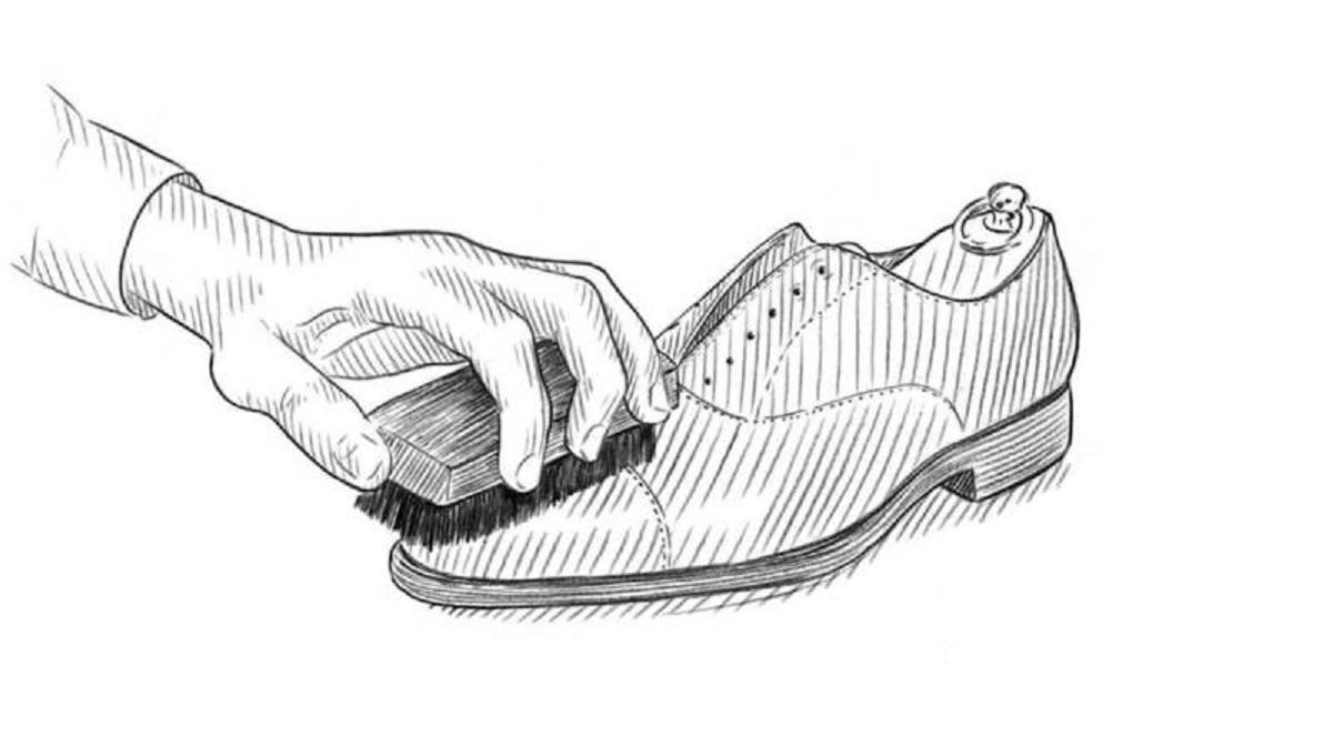 καστόρινα παπούτσια περιποίηση ξεσκόνισμα